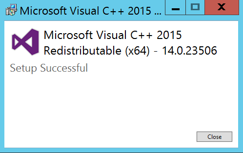 Visual C++ Redistributable