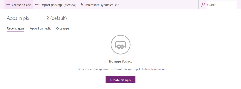 PowerApps All Apps