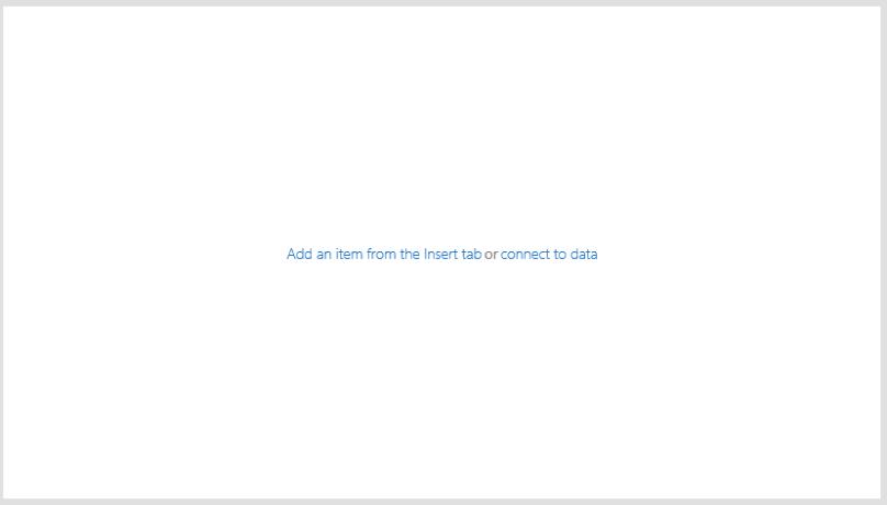 PowerApps Blank Screen