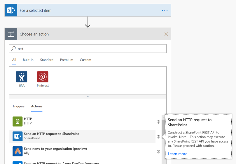SharePoint REST API from MS Flow – Piyush K Singh