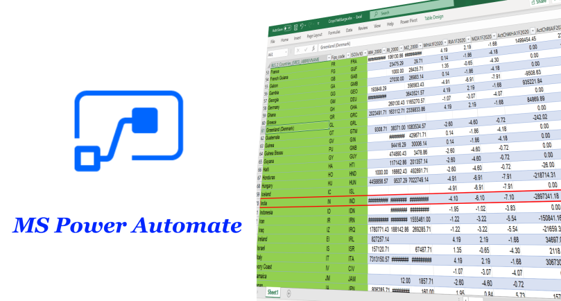 Power Automate Parse Excel